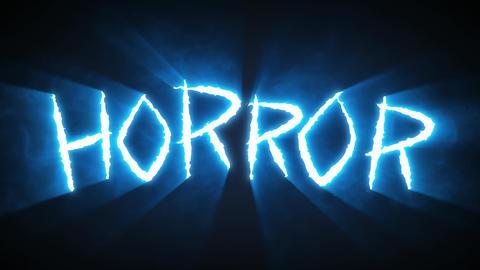Claw Slashes Horror Blue Animation