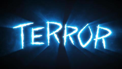 Claw Slashes Terror Blue Animation