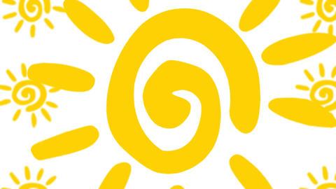 Summer Sun Loop 애니메이션