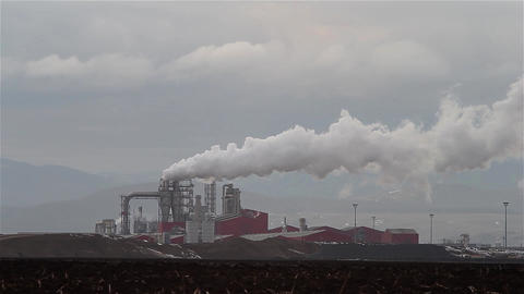 Industrial Factory 03 stock footage