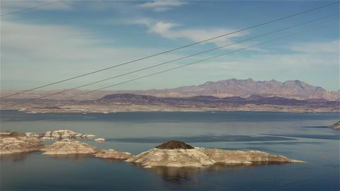 Lake Mead 2015 4K UHD stock footage