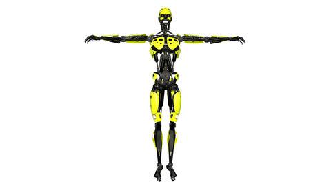 4k ロボット Animation