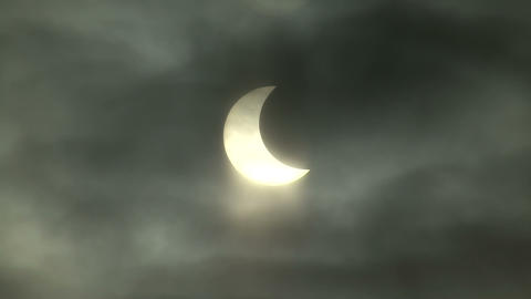 solar eclipse Footage