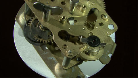 Within mechanical watch Footage