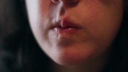 Woman who eats 04 Footage