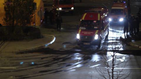 Ambulance in action 05 Footage