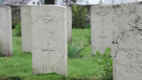 Militar cemetery 25 Footage