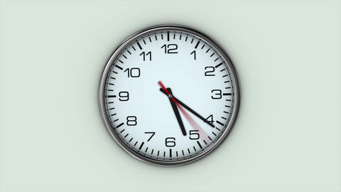 Clock 4k 3 stock footage