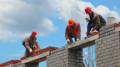 House builders erect Footage