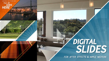 Digital Slides - After Effects Template After Effects Project