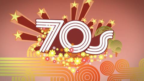 Seventies Background Animation