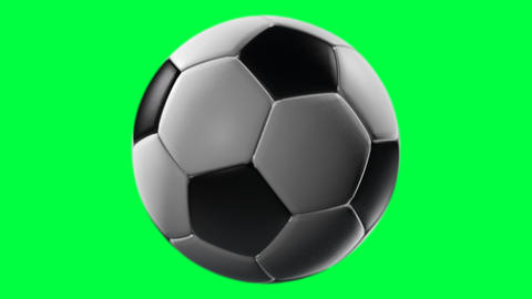 Soccer Ball, loop seamless, alpha channel, PNG+Alpha Animation