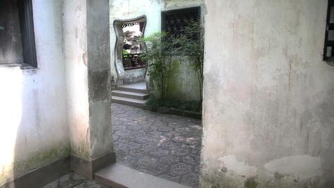 Yuyuan Garden slider filming 8418 Footage