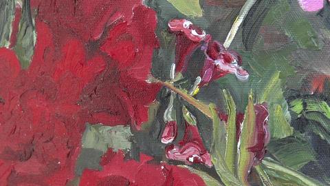 Oil painting on canvas 16 ライブ動画