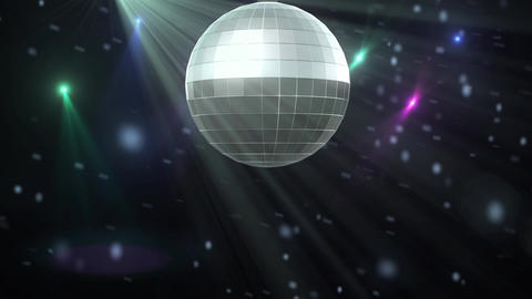 Party Dance Floor Background stock footage