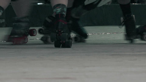 Roller Skates Closeup - Battle Royale Footage