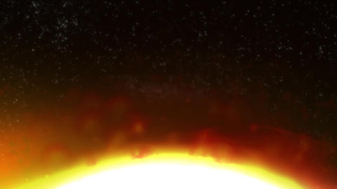 Solar Eclipse stock footage