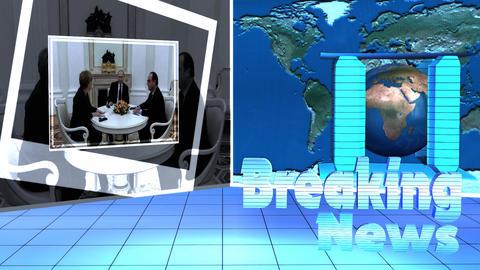 Breaking News Broadcast TV Motion Footage