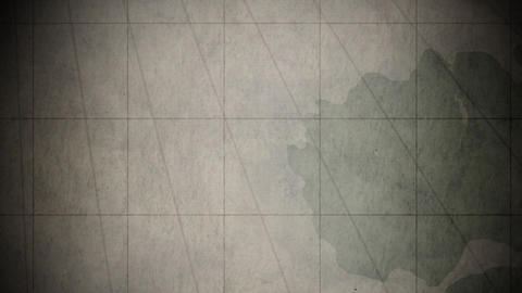 Medieval Map Background 2 stock footage