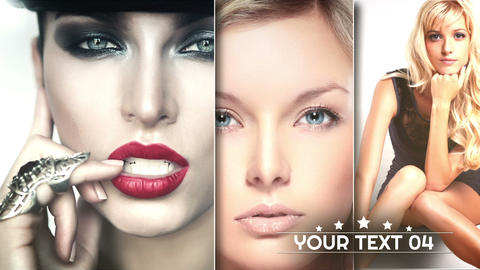 Beauty presentation After Effects Template