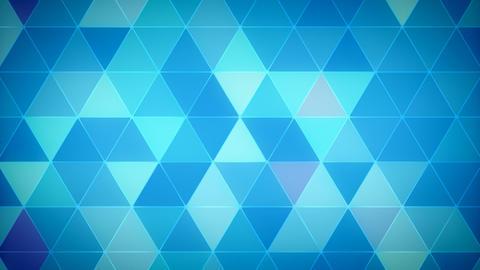 Triangle Polygon Loop 01 Winter Animation