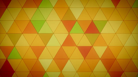 Triangle Polygon Loop 04 Fall stock footage