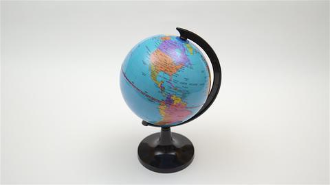 Desktop World Globe. 4K UHD stock footage