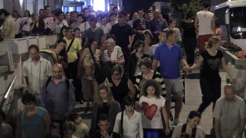 People on the street 88 Footage