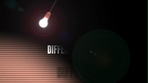 Lightbulb After Effects Template