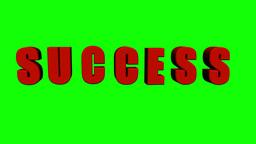 Success Dance (Green Screen) Stock Video Footage