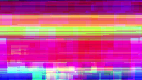 Glitcher Background CG動画