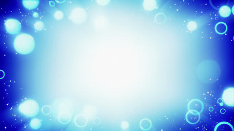 blue circles frame loopable background Animation