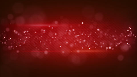 bokeh circles on red striped background loopable Animation