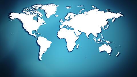 World map background Animation