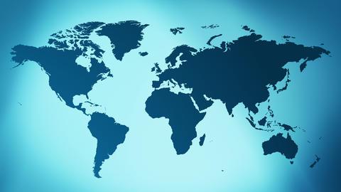 Intro world map background 4k Animation