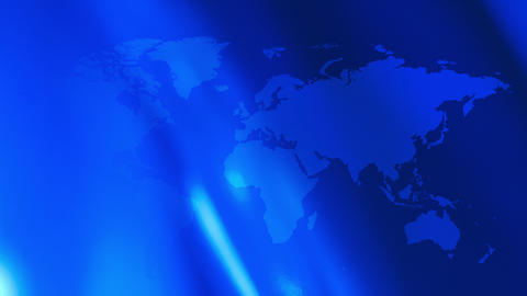 Futuristic technology world map blue motion background Animation