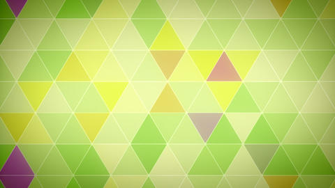 Triangle Polygon Loop 05 Garden Animation