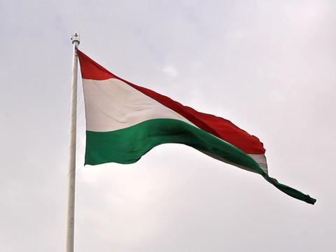 Tajikistan flag. Dushanbe, Tajikistan. 640x480 Footage