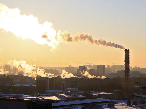 Industrial zone. Ekaterinburg, Russia. 640x480 Footage