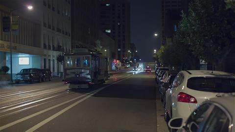 San Francisco At Night stock footage
