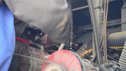 Mechanic 3b Stock Video Footage