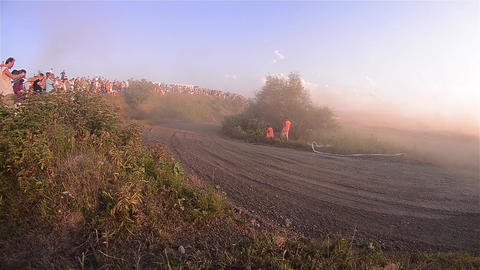 Rally 11 Stock Video Footage