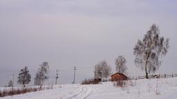 Winter landscapes 1b Footage