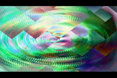 blur and polygon bg 4 Stock Video Footage