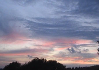 Sunset 1a stock footage