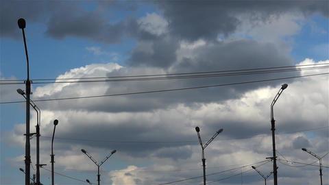 Lighting pole Footage