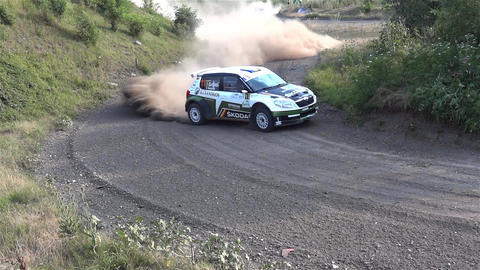 rally 2 Footage