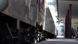 Train 33 Stock Video Footage