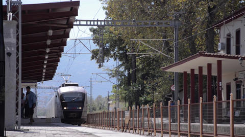 Train 29 Stock Video Footage
