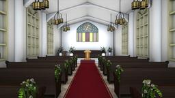 4k 教会 stock footage